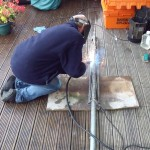 GB7WB Turbine Pole Welding by G1VSX