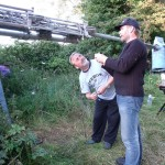 GB7WB Wind Turbine with Steve and Graham