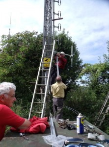 GB7WB Tower Rigging