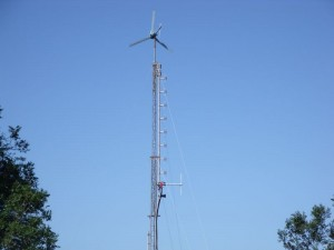 GB7WB Antenna with Turbine