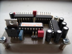 Home-Made GB3WB PCB