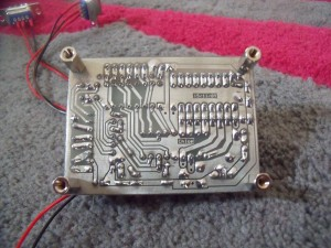 Cold solder tinned board