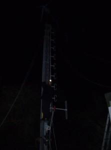 GB3WB featuring G1VSX night climbing