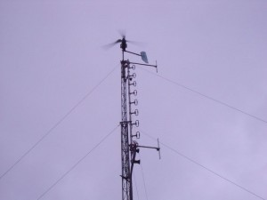GB3WB Current Mast Configuration With GRP Blades