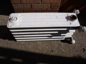 GB3WB oil filled heater used as a 500w 24v dump-load when fitted with 24v heater element