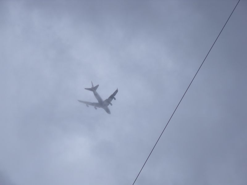 GB3WB with 747 just above the mast