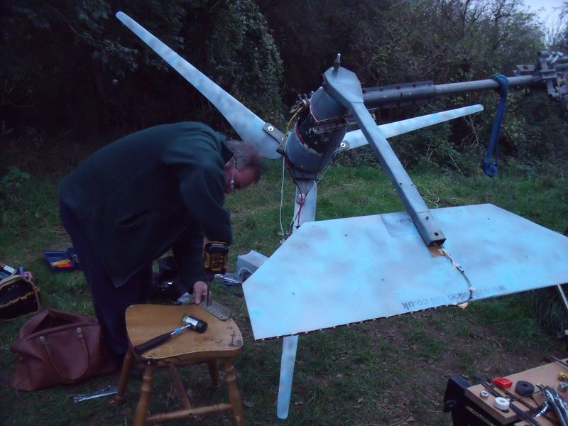 GB3WB Repositioned turbine tail with G4TBD