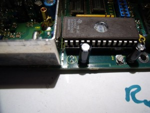 FX5000 Transmitter with C536 removed