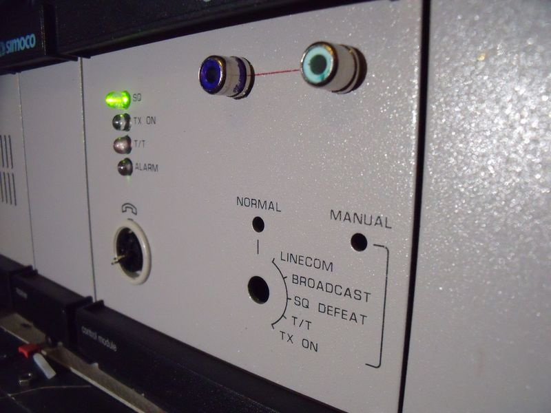 GB7WB UHF FX5000 D-Star GMSK Repeater Control Unit Front Panel