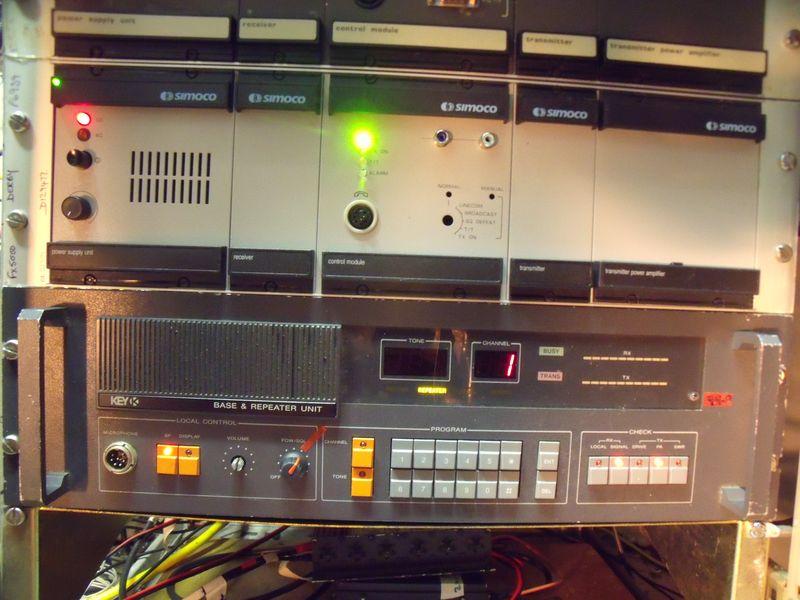 GB7WB UHF FX5000 D-Star GMSK Above GB3WB Key UHF FM Repeater