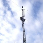 GB3WB Mast Ready To Lower