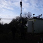 GB3WB Mast Lowering preperation