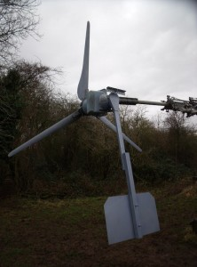 GB7WB New Turbine Blades and Tail
