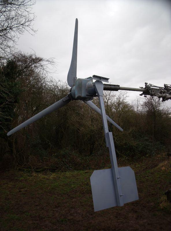 GB7WB New Turbine Blades and Tail