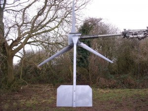 GB7WB January 2012 New Turbine Blades and Tail