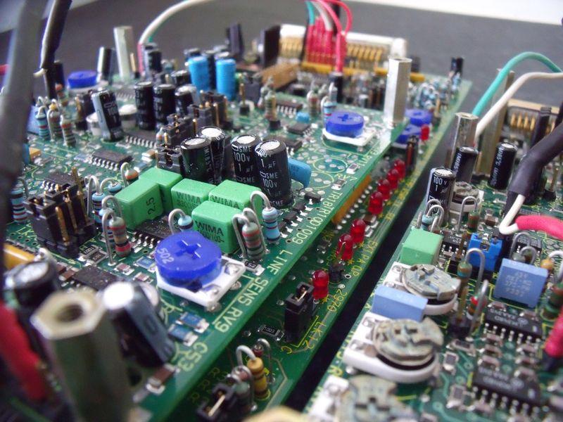 GB7WB FX5000 Audio Control Board Close-Up