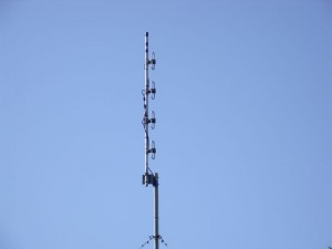 GB3WB New UHF 4-Stack Antenna