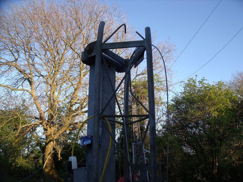 GB3WB Mast cut off above pivot