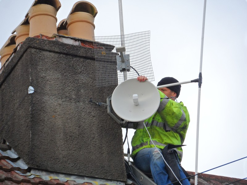 GB3WE 5 GHz Dish
