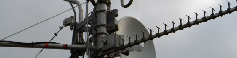 GB3WE 5 GHz Dish & 2.4 GHz Tonna