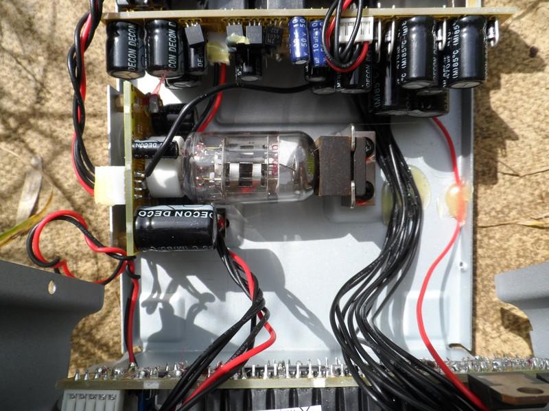 GB3WB Valve Audio Amplifier