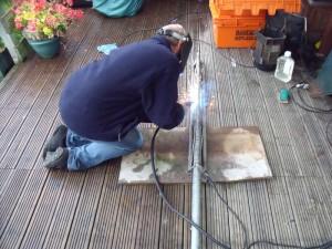 GB7WB Turbine Pole Welding by G1VSX