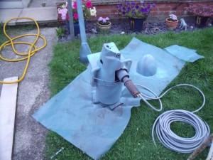 GB3WB Wind Turbine PMA Housing Sprayed