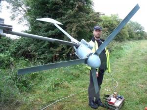 GB3WB Original Wind Turbine with silenced blades
