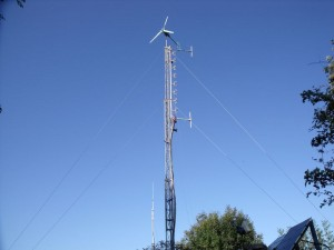 GB7WB Mast Configuration October 2011