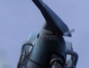 GB3WB wind turbine tail pivot spring to prevent premature furling temporary fix close-up