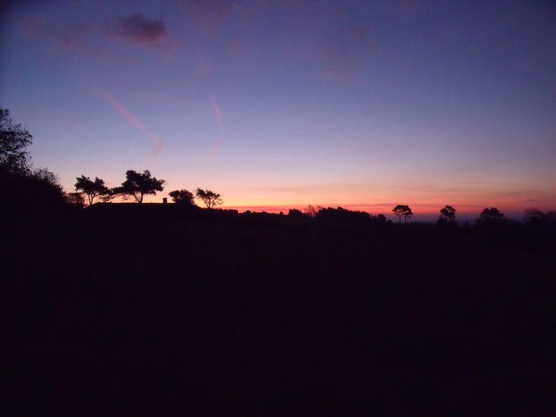 GB7WB Sunrise on Bleadon Hill