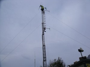 GB3WB G1VSX Tower Climbing