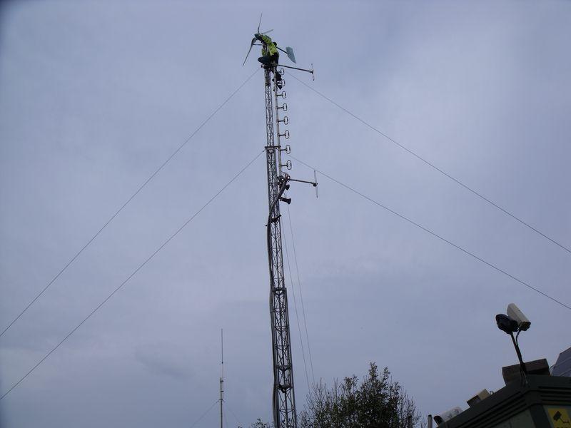 GB3WB G1VSX Tower Climbing