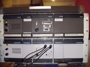 GB3WE on top of GB7WB VHF and UHF FX5000 Repeaters