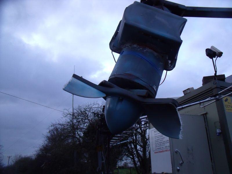 GB3WB Damaged Turbine Close-up