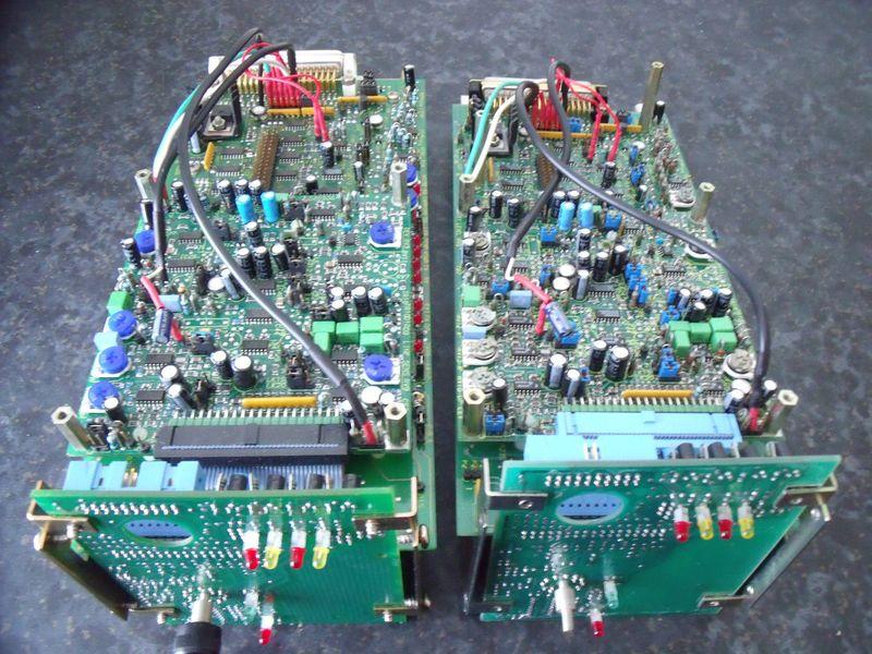 GB7WB & GB3WE Pair Of FX5000 Control Logic & Audio Control Boards