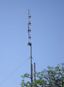 GB3WB New UHF 4-Stack