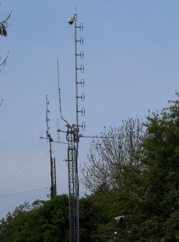 GB3WE Antenna Configuration May 2014