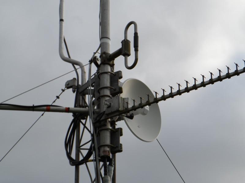 GB3WE 5 GHz Dish & 2.4 GHz Tonna